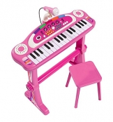 Simba 106830690 - My Music World Girls Standkeyboard 55cm -