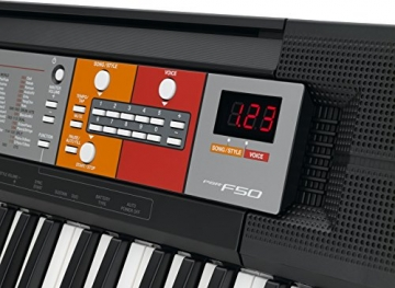 Yamaha PSR-F50 Keyboard (61-Tasten, LED-Display, 6 Watt) -